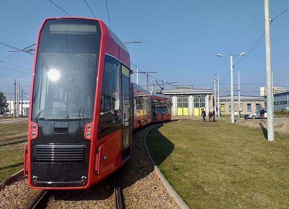 722 tramwaj dostarczony przez Pesę na całym świecie
