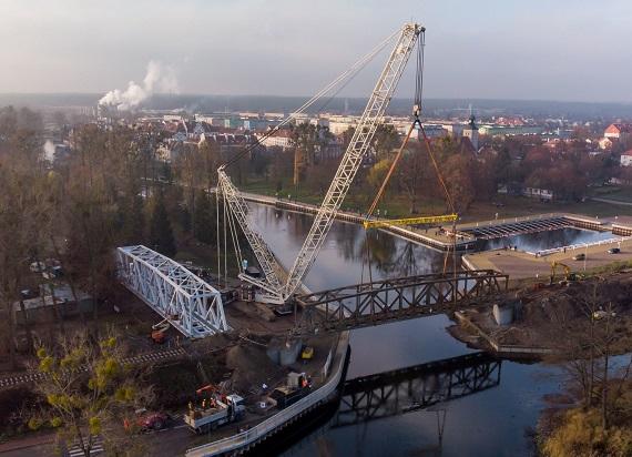 Pisz – Most w przyszłość most w przeszłość