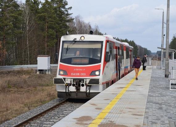 Nowe perony na Podlasiu