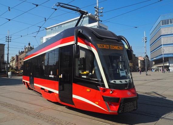 Tramwaje Śląskie z dofinansowaniem unijnym na modernizację linii tramwajowych