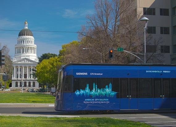 Siemens Mobility dostarczy 20 pojazdów kolei podmiejskiej S700 do Sacramento