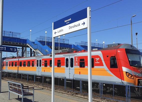PLK doposażają perony na Lubelszczyźnie