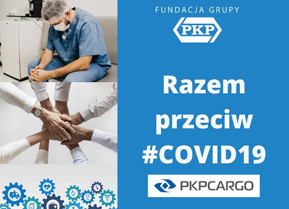 Z inicjatywy pracowników PKP CARGO powstała zbiórka pieniędzy na rzecz walki z koronawirusem