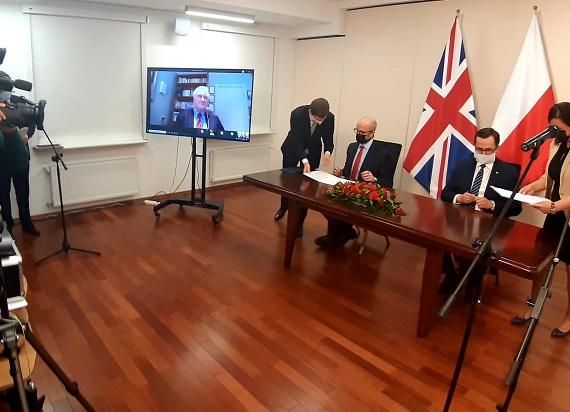 Polsko-brytyjska współpraca w sprawie Centralnego Portu Komunikacyjnego