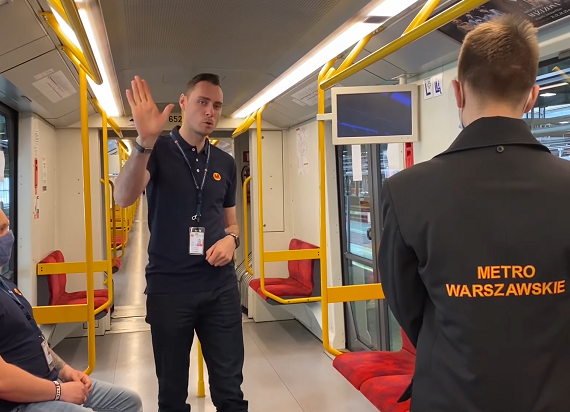 Metro Warszawskie wzięło udział w #Hot16Challenge2