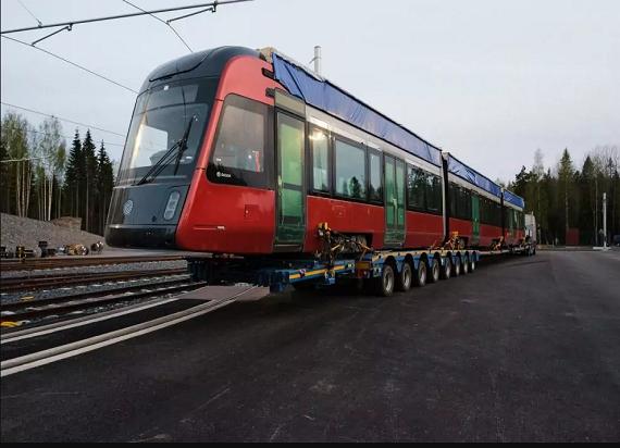 Škoda Transtech przekazała pierwszy z 19 tramwajów dla fińskiego miasta – Tampere