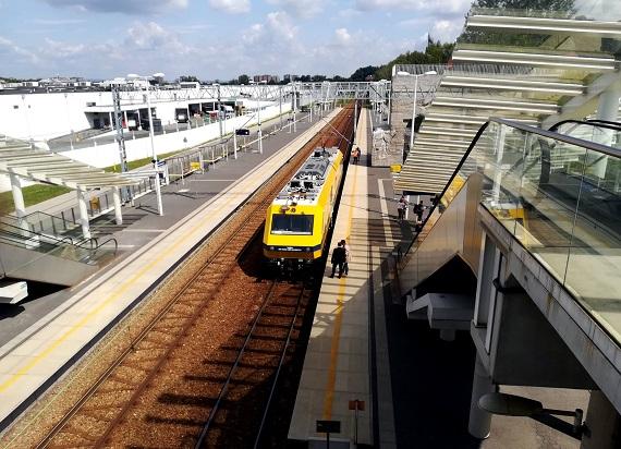 Co z diagnostyką linii kolejowych w czasie epidemii? PLK wykorzystują niedawno zakupiony sprzęt
