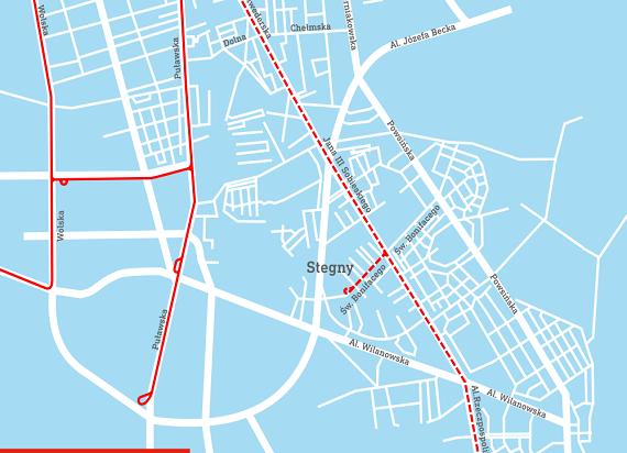 Warszawa: Jest umowa na tramwaj na ulicy Gagarina