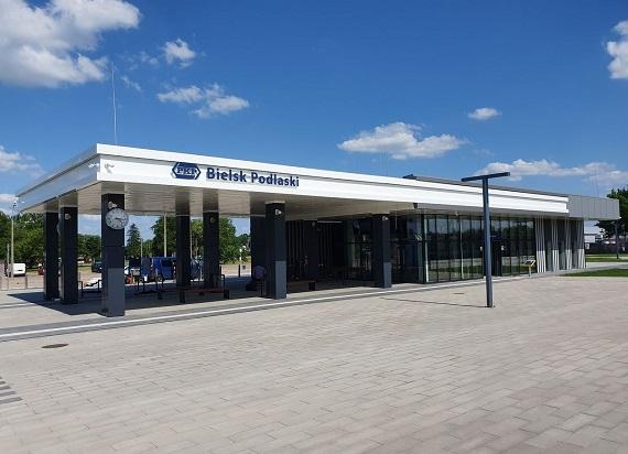 Nowy dworzec PKP w Bielsku Podlaskim otwarty!