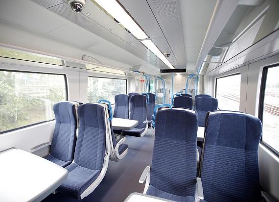 Technologia Siemens Mobility pomaga w utrzymaniu dystansu między pasażerami w pociągach