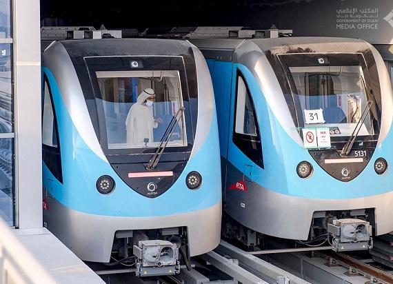 Pociągi z Chorzowa już na torach metra w Dubaju. Najszybciej zrealizowany na świecie projekt budowy metra pod klucz