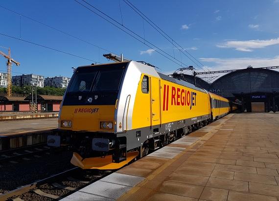 RegioJet w miesiąc sprzedało ponad 50 000 biletów na pociągi do Chorwacji