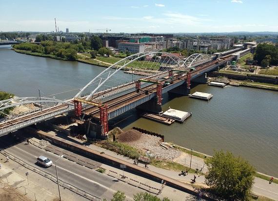 Most kolejowy spod Wawelu jedzie w Polskę. Szykuje się budowa nowych mostów w Krakowie