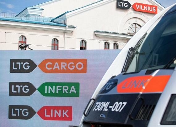 Koleje Litewskie zmieniają skrót i wizerunek marki – LTG, LTG link, LTG Cargo i LTG Infra
