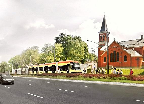 Warszawa: Tramwaj na Kasprzaka – jest przetarg na budowę