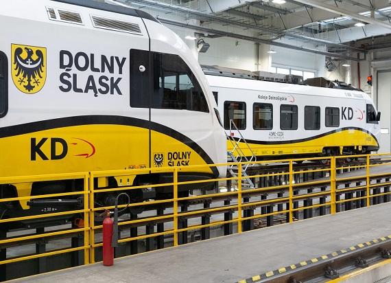 Koleje Dolnośląskie z wnioskiem o dofinansowanie hali serwisowej