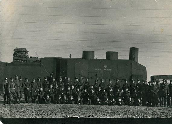 Pociągu pancerne wykorzystywane w wojnie polsko – bolszewickiej [FOTOGALERIA]