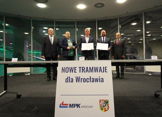 MPK Wrocław podpisało umowę z Modertrans na dostarczenie nowych tramwajów