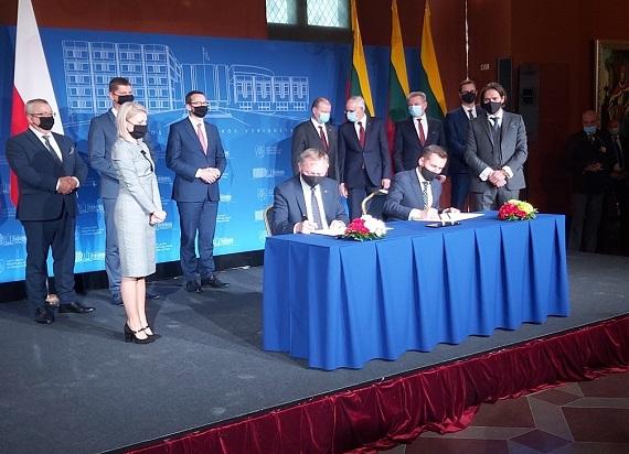 Połączenie kolejowe Wilno – Warszawa już w 2021 roku? Jest list intencyjny Polski i Litwy