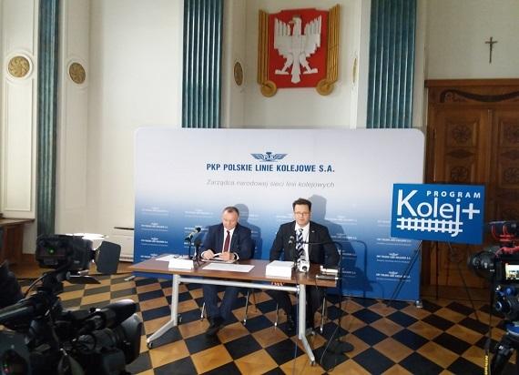 PLK podsumowują złożone wnioski w ramach programu Kolej Plus