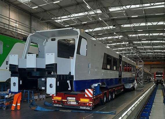 Produkcja pierwszego pociągu dla PKP Intercity z miliardowego zamówienia w toku