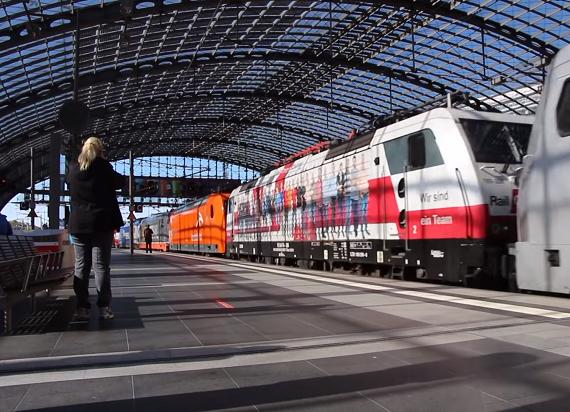 Niemcy: Strajk prywatnych przewoźników przeciw centralizacji finansowania DB [WIDEO]