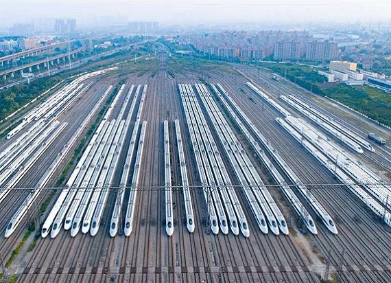 Koleje Chińskie z rekordowymi wynikami. 456 mln pasażerów w dwa miesiące
