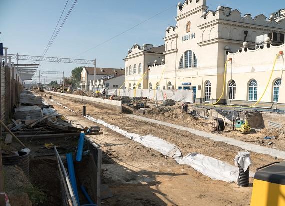 Lublin Główny: Szybciej i wygodniej do pociągu i przez stację [ZDJĘCIA]
