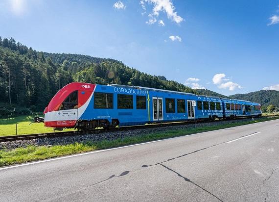ÖBB po raz pierwszy testuje pociągi wodorowe w ruchu pasażerskim
