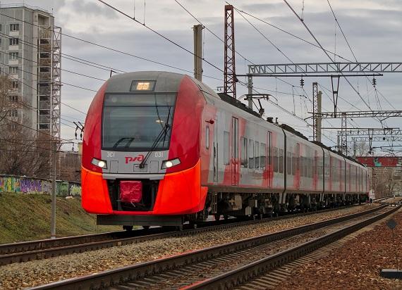 """Rosyjskie """"Jaskółki"""" przewiozły 500-milionowego pasażera na Moskiewskim Pierścieniu Centralnym"""