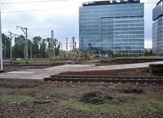 Pierwsze prace – przygotowanie do zmian na stacji Warszawa Zachodnia [ZDJĘCIA]
