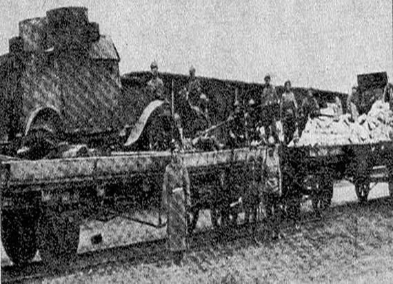 Kolej podczas I Wojny Światowej, czyli pierwszy polski pociąg pancerny