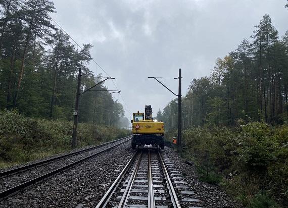 PLK zwiększą możliwości kolei na linii łączącej Śląsk i porty