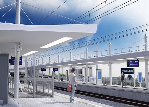 PLK podpisały umowę na linię kolejową do lotniska w Pyrzowicach. Wartość umowy to ponad 660 mln zł