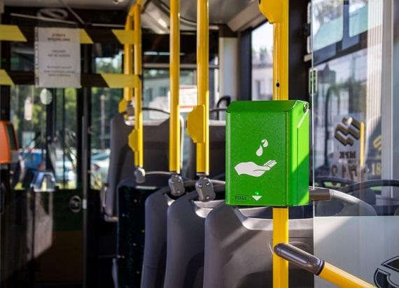 MPK Poznań kupuje kolejne dezynfektory. Łącznie w tramwajach i autobusach będzie ich blisko tysiąc