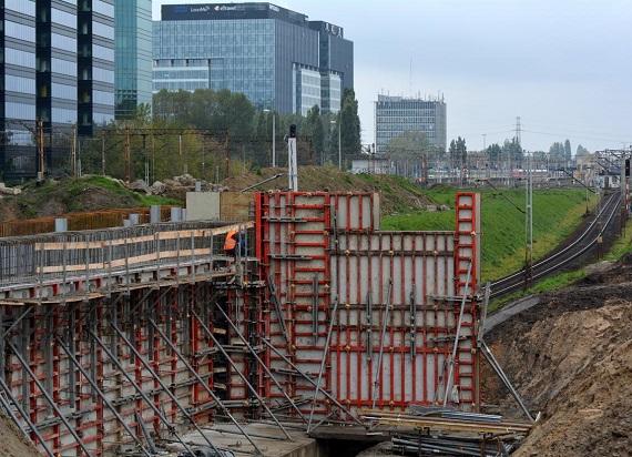 Zakończenie budowy nowej Warszawy Głównej zaplanowane na I kwartał 2021 roku [ZDJĘCIA]