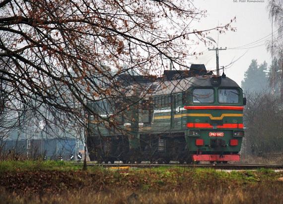 Koleje Białoruskie też stawiają na intermodal