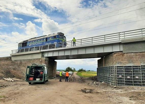 PLK: Przebudowa wiaduktu koło Inowrocławia – sprawniejszy przejazd pociągów