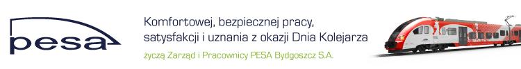 Życzenia Dzień Kolejarza Pesa Bydgoszcz
