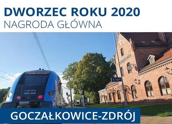 Przemyśl Główny i Goczałkowice-Zdrój – znamy laureatów konkursu Dworzec Roku 2020