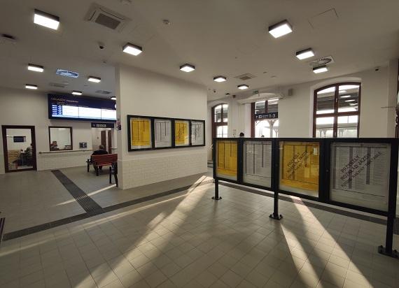 Zmodernizowany dworzec w Malczycach od dziś otwarty dla podróżnych [ZDJĘCIA]