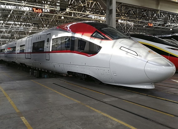 Chińczycy zaprezentowali prototyp superszybkiego pociągu towarowego [ZDJĘCIA]