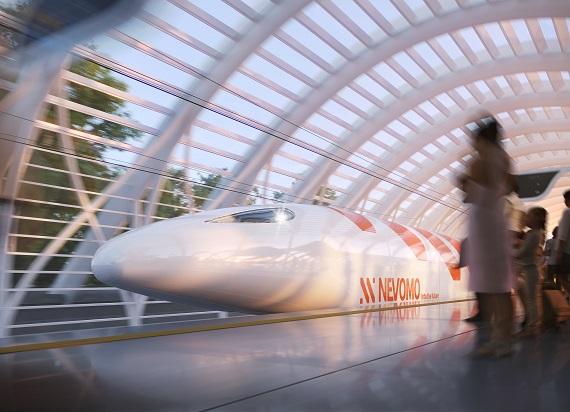 Nevomo uzyskało finansowanie z Shift2Rail. Celem projektu jest uruchomienie europejskiego systemu Hyperloop