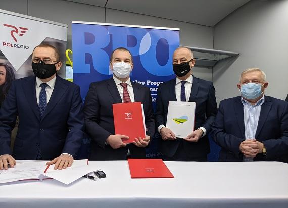 POLREGIO uruchomi cztery połączenia transgraniczne do Niemiec. Spółka podpisała 10-letnią umowę z woj. lubuskim