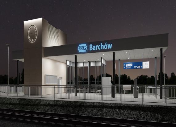 Pierwsze mazowieckie dworce na Rail Baltice w budowie