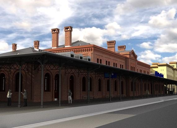 Niebawem ruszy przebudowa historycznego dworca kolejowego Węgliniec z 1865 roku