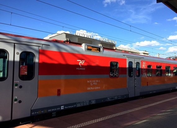 POLREGIO: Pociąg zamiast samochodu w ramach Europejskiego Roku Kolei