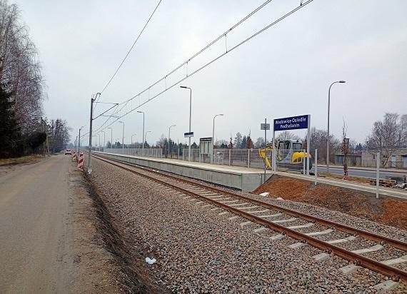 Od 1 lutego pierwsze pociągi zatrzymają się na nowym przystanku w Wadowicach