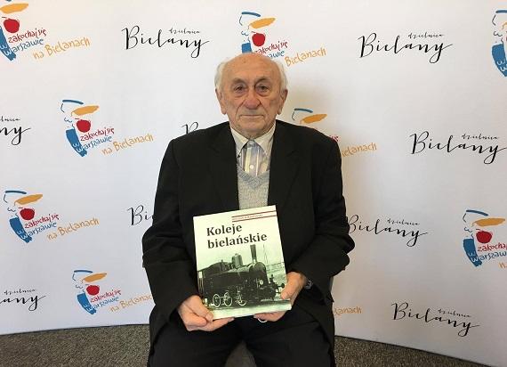 """Wywiad z największym miłośnikiem kolei – premiera nowej książki Bogdana Pokropińskiego """"Koleje Bielańskie"""""""