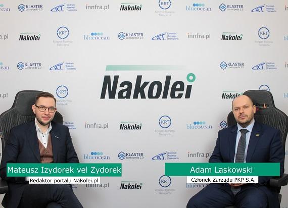 A. Laskowski: Chcemy tworzyć zieloną kolej
